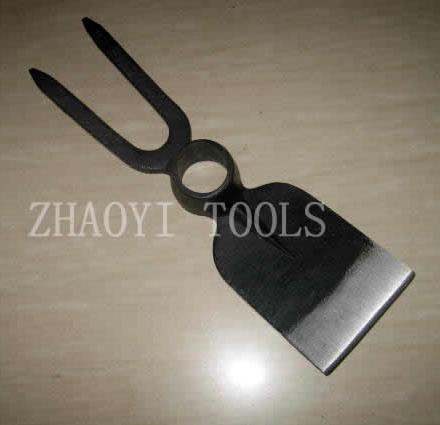 30020105 forging garden weeding fork hoe