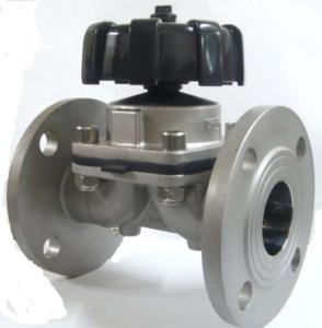 Flange Diaphragm Valve,stainless steel flange diaphragm valve,sinaraty flange diaphragm, DN25 316l,