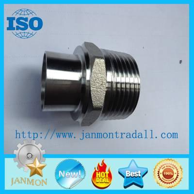 stainless steel nipple, stainless steel union threaded end, stainless steel hexagon threaded ends