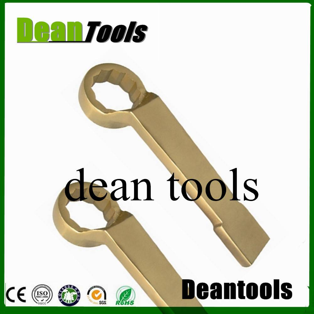 OFFSET RING BOX END non sparking high neck striking socket 12point box spanner ,wrench