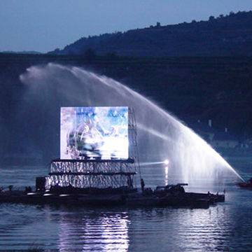 P31.25 Outdoor Full Color LED Display Screen, Wireless Control, Optional