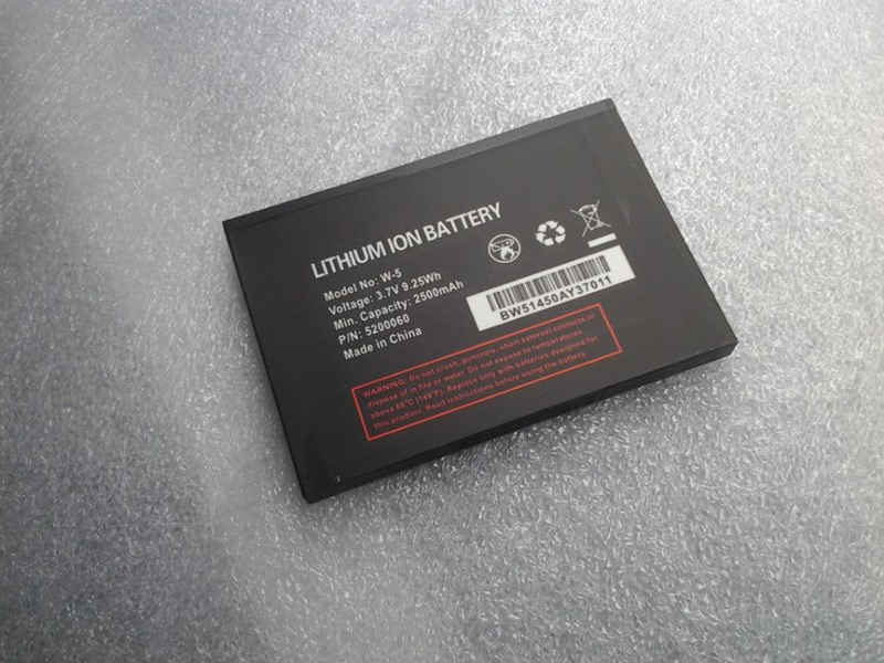 W-5 2750mAh Battery for Netgear Sierra Wireless Aircard 782S 770S 771S Mobile WiFi Hotspot Battery