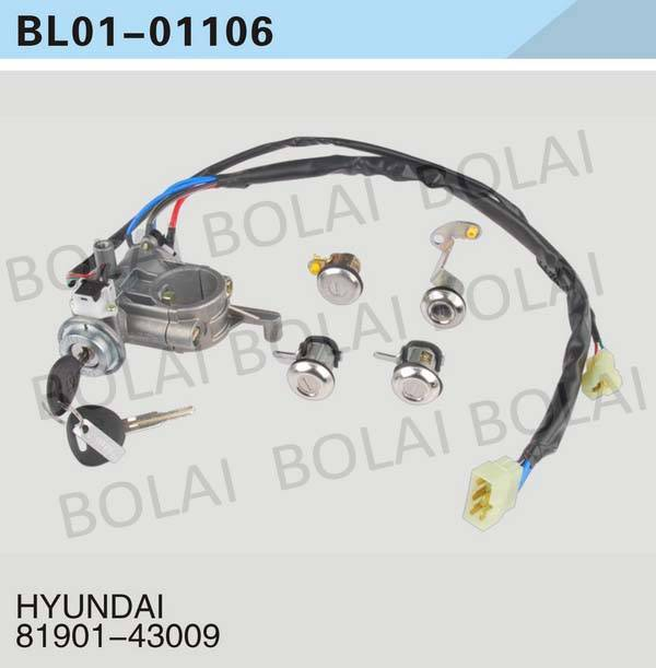 USE FOR HYUNDAI  KEY SET/IGNITION SWITCH 81901-43009