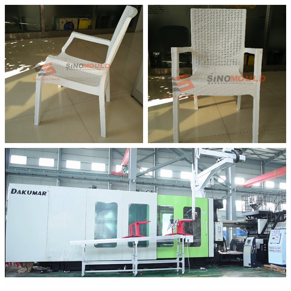 Ready Gas Assistant Chair with Rattan Design