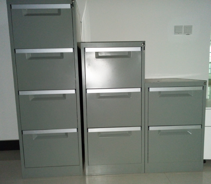 Metal drawer filing cabinet