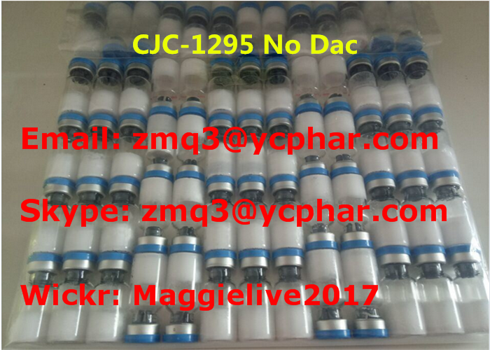 White Powder Cjc-1295 Peptide Human Growth Steroid For Muscle Enhance