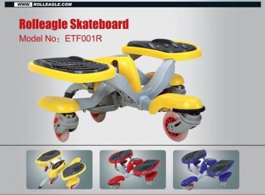 Rolleagle /Rolling skateboard(CE approval)