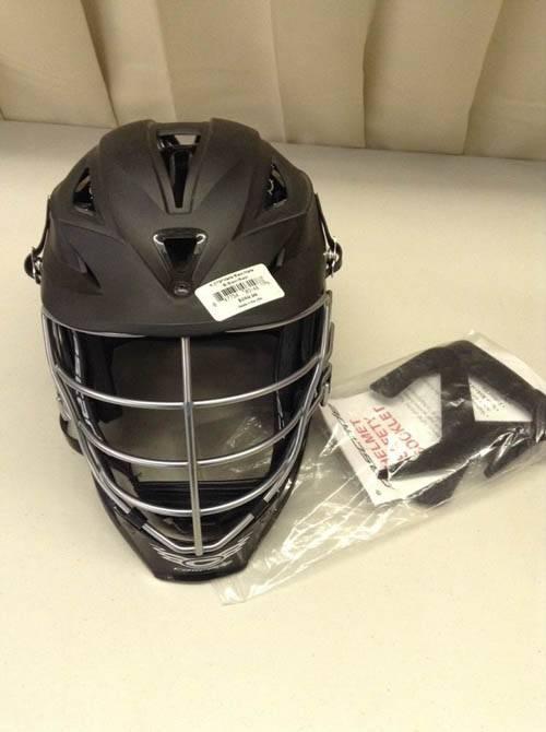 Cascade Lacrosse Black Matte Helmet