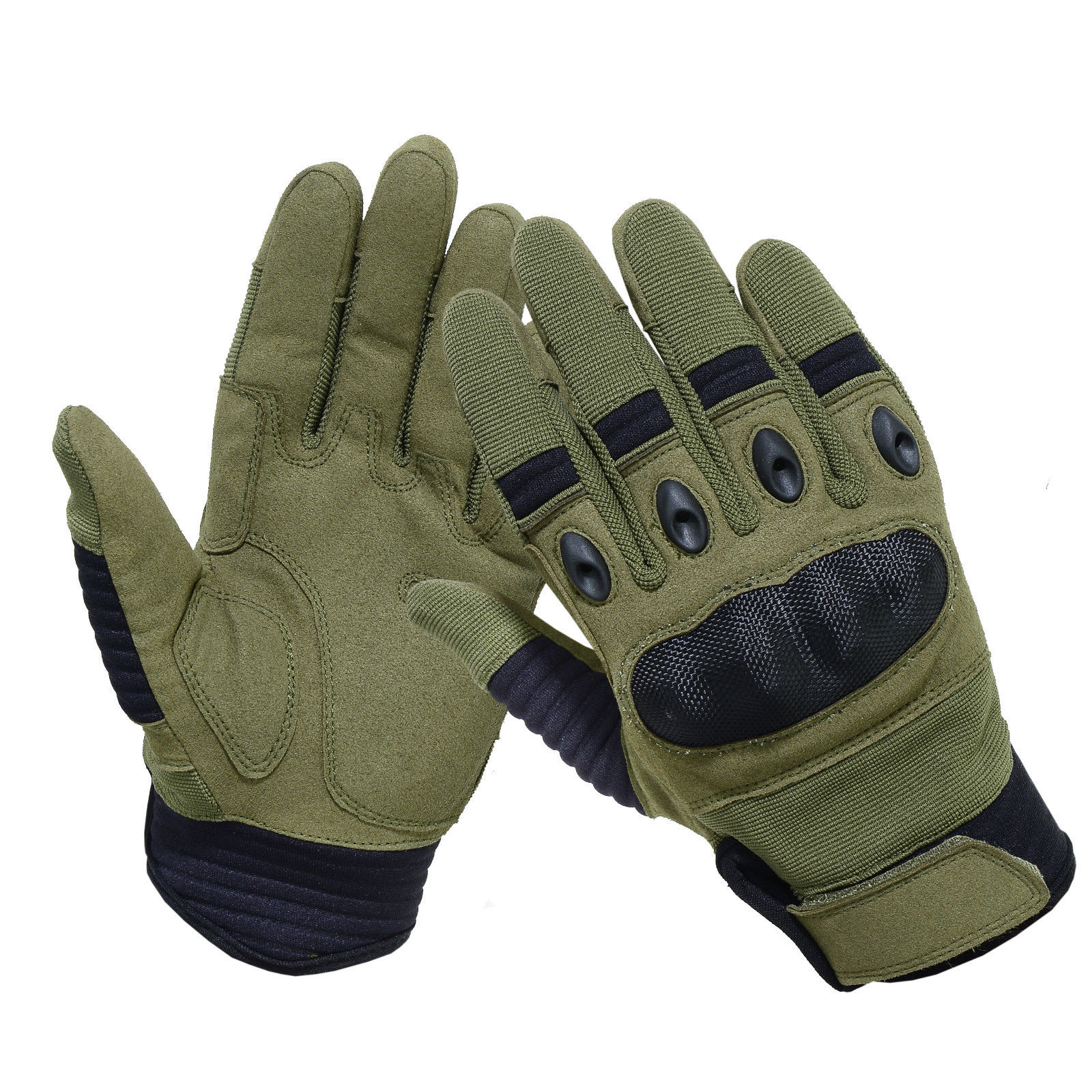 New Brand Tactical Gloves Military Army Paintball Airsoft Shooting Police Carbon Hard Knuckle glove
