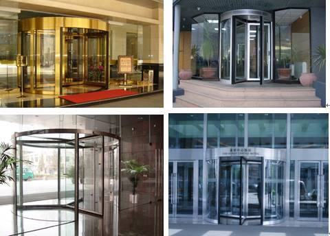 manual revolving door
