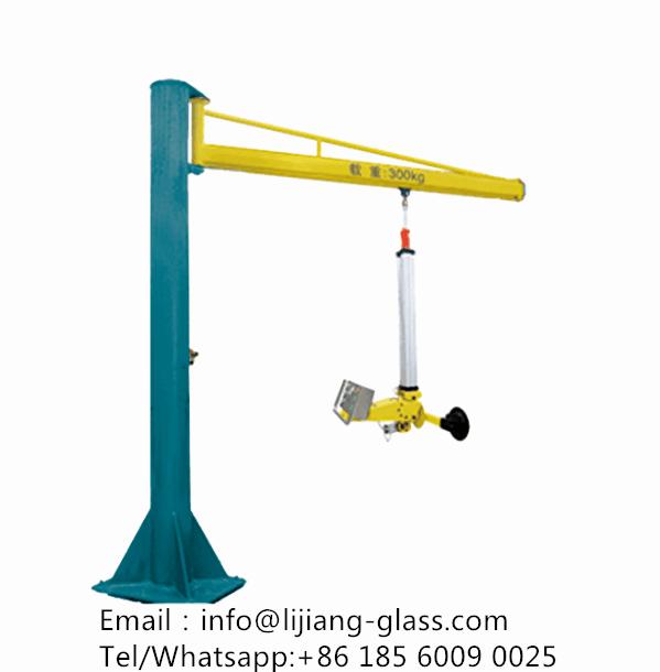 Glass lifting equipment of Insulating glass machine