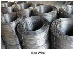 galvanized box wire