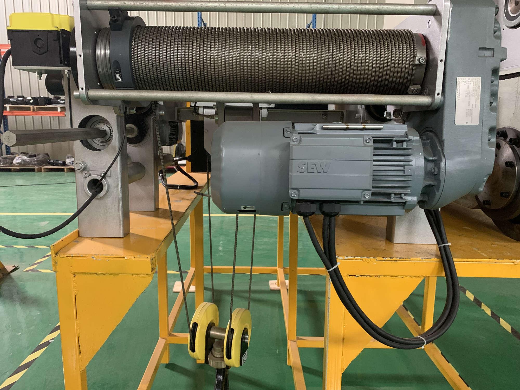 3 Ton European Type Single Girder Electric Wire Rope Hoist