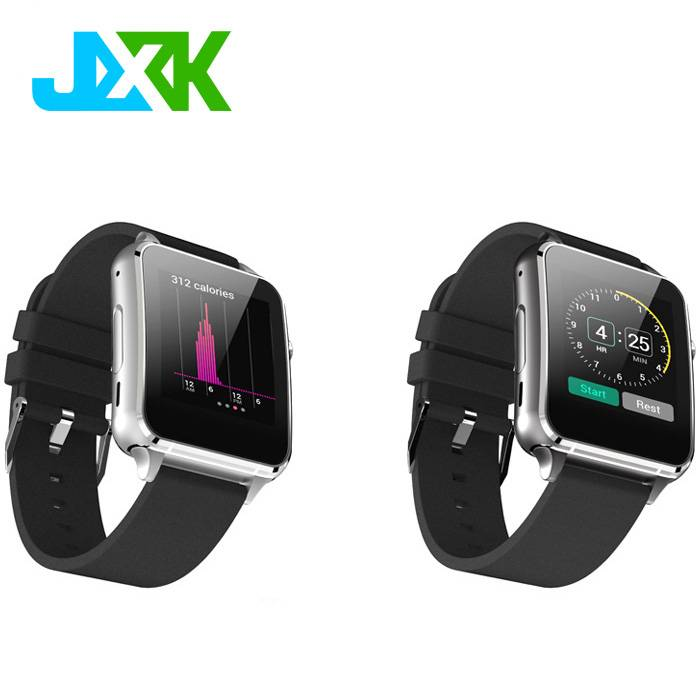 Factory Price 1.54 inch IPS arc screen smart watch with phone and heart rate monitor function and ca