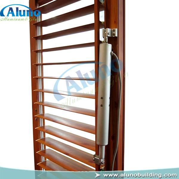 electric adjustable aluminum shutter