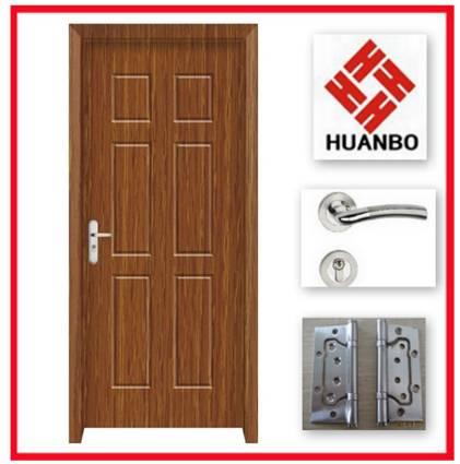 PVC Plastic Mordern Wooden mdf wooden Doors
