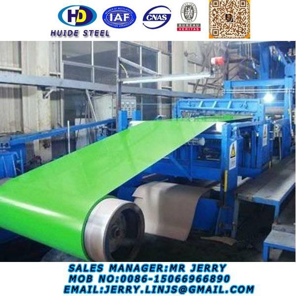 Color Coated Galvanzied Steel