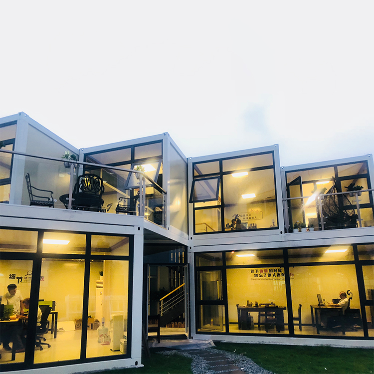 Made in china small prefab houses, flat pack container house luxury, small prefab houses