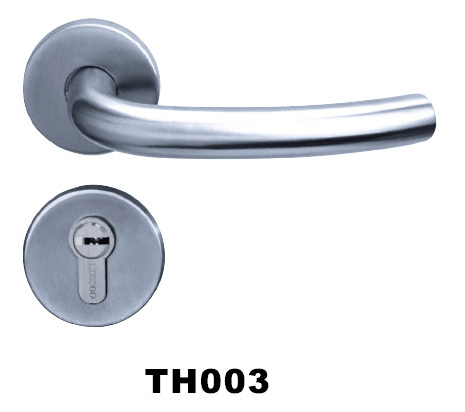Stainless steel(SS) tube door handle/lock/hardware high quality