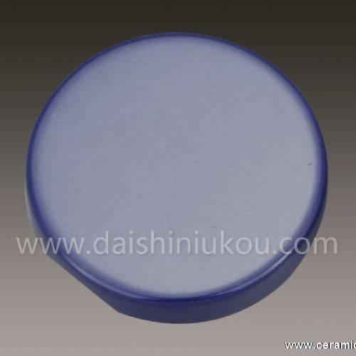 Round Button/Blue Ceramic Clothes Button Supplier