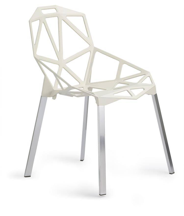Modern Magis Chair Strong Metal Aluminum Chair in Dining Chair