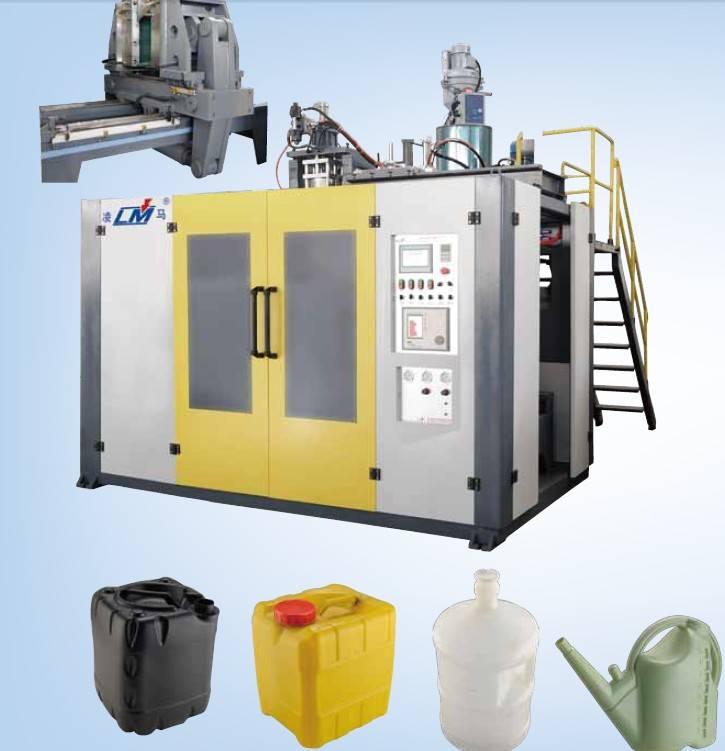 HDPE bottle extrusion blow moulding machine
