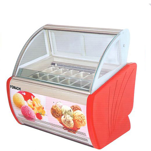 Commercial Ice Cream Showcase 12GN1/3 Pan FMX-SP206A