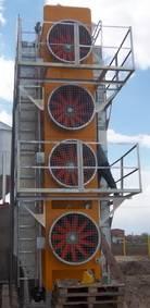 Veldtog van Diesel Graan Dryer Machine vir klein boere Ons maatskappy het batch droër vir klein boer