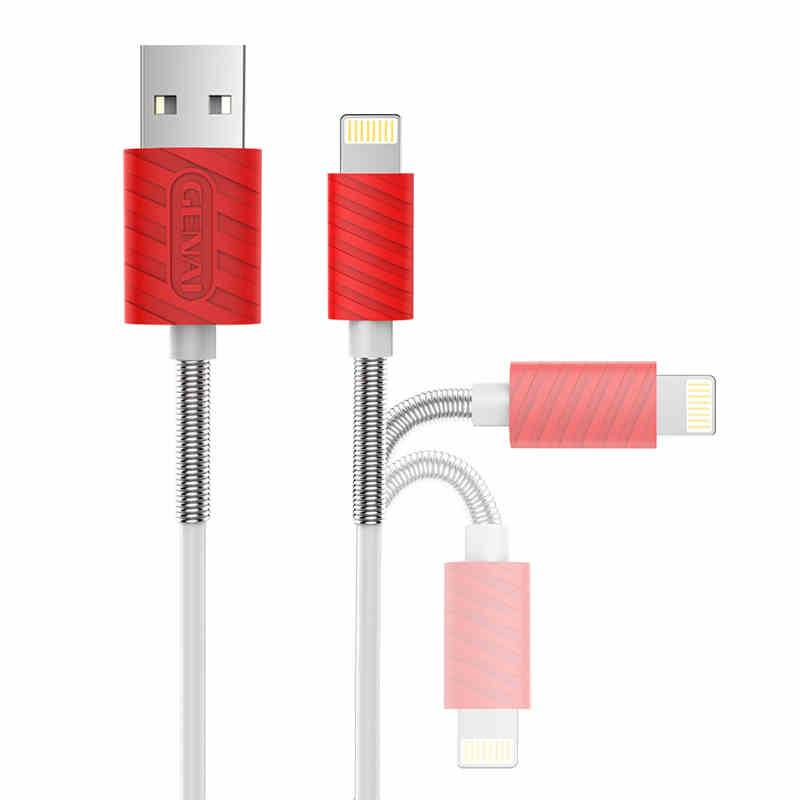 2016 High quality GENAI NECK-protected mobile USB Cables charging Line new USB data line for iphone6