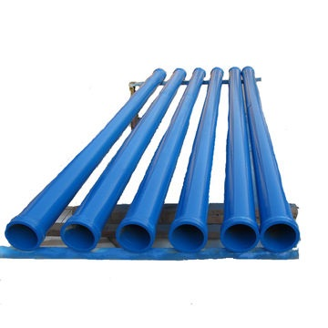 Straight Carbon Steel Pipe Concrete Conveying Pump Pipe Wear Resisting Twin Wall Straight Delivery P
