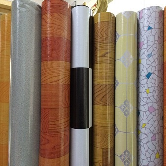 0.35mm Plastic PVC Flooring Roll for Home Decoration