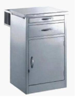stainless steel bed side cabinet