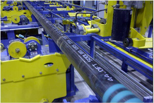 steel tube marking machine