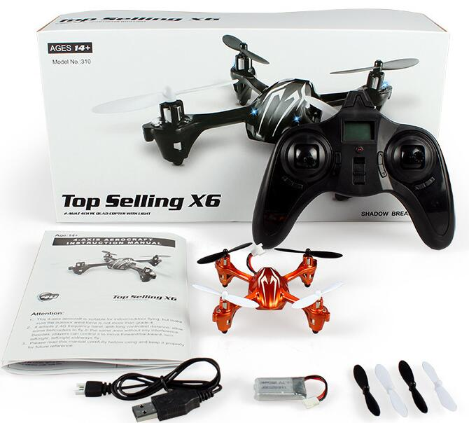 Manufacturers selling 2.4G 6 through four axis gyroscope mini UFO remote control aircraft 3d reverse