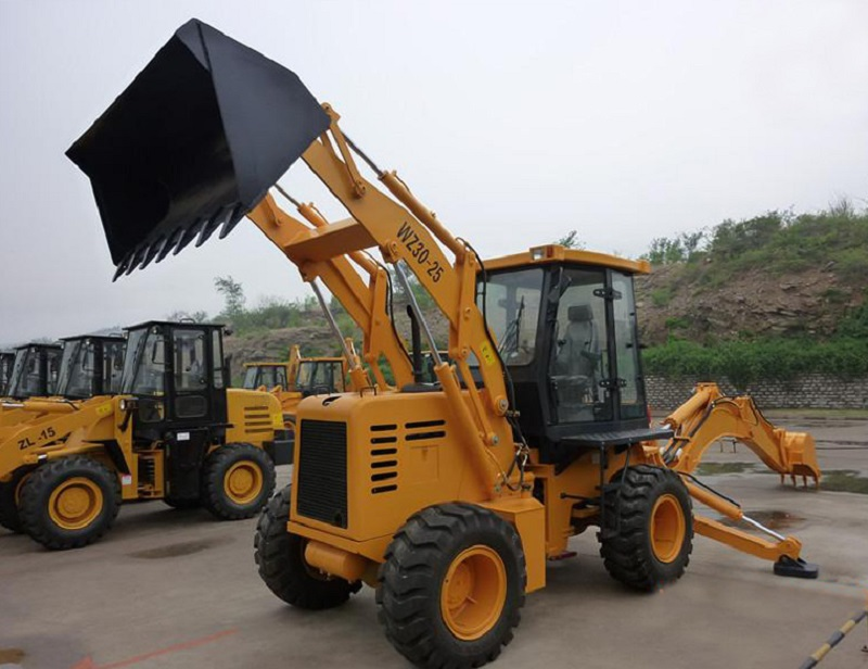 backhoe loader with any wheel loader spare parts