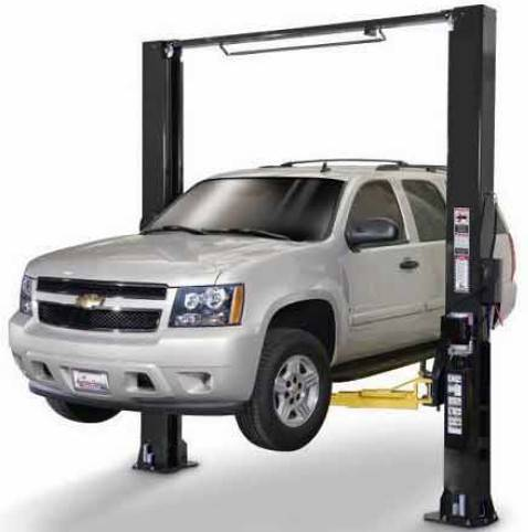 Two post clear-floor lift  TPO707