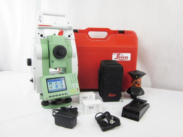 "Used Leica TS12 P 2"" R400 Robotic Total Station"