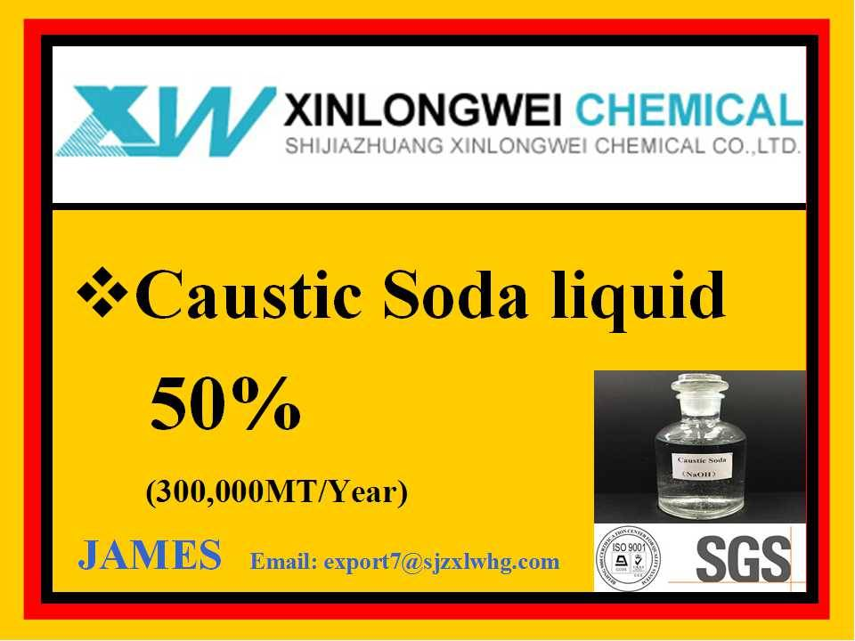 Industrial food oil mining metal textile dye fertilizer Caustic soda/Sodium Hydroxide liquid NAOH 50