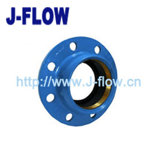 quick flange adaptor for PVC/HDPE pipes