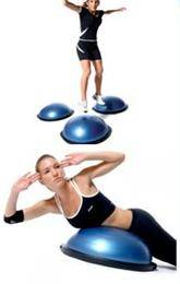 half training balance fitness exercise ball
