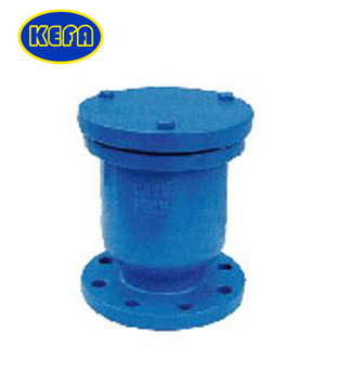 Single ball air release valve