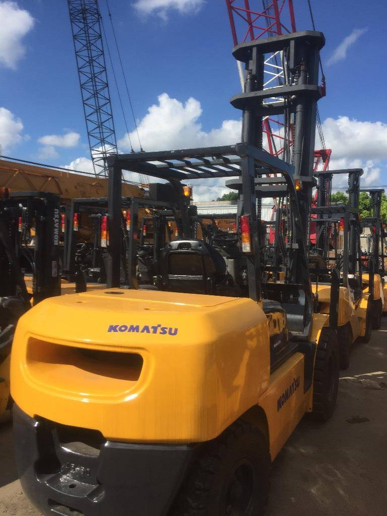 USED KOMATSU 5TON FD 50 AT-7 FORKLIFT WITH HIGH QUANLITY IN LOW PRICE FROM JANPAN