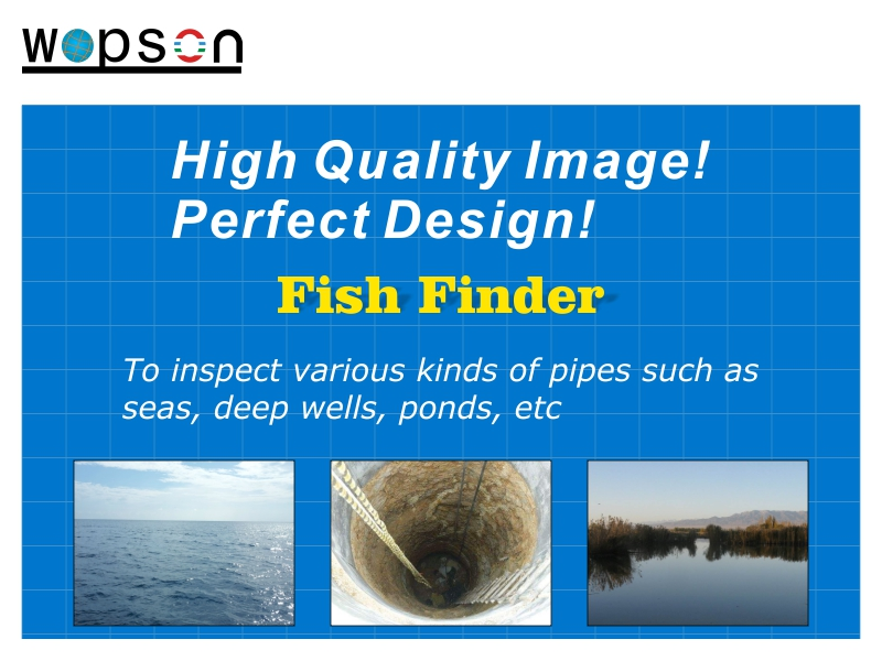 WOPSON 360 rotation camera underwater camera 50m fishing camera