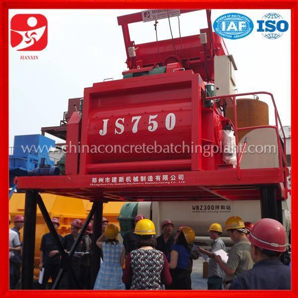 China top sale machine concrete mixer factory