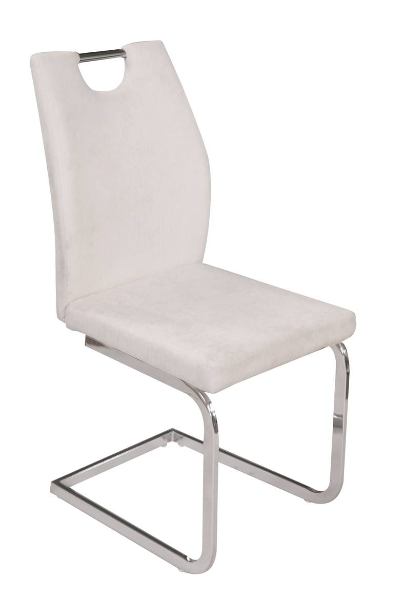 Italian Design Chair with Seat & Back in Microfiber