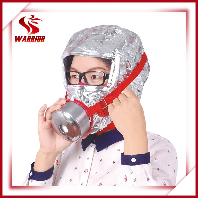 CE certificate en403 fire escape mask/ smoke hood