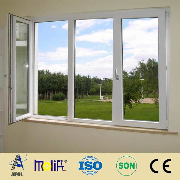 cheap price pvc casement window