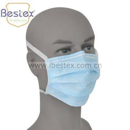 Tie on Medical Face Masks with ASTM2100 Level II