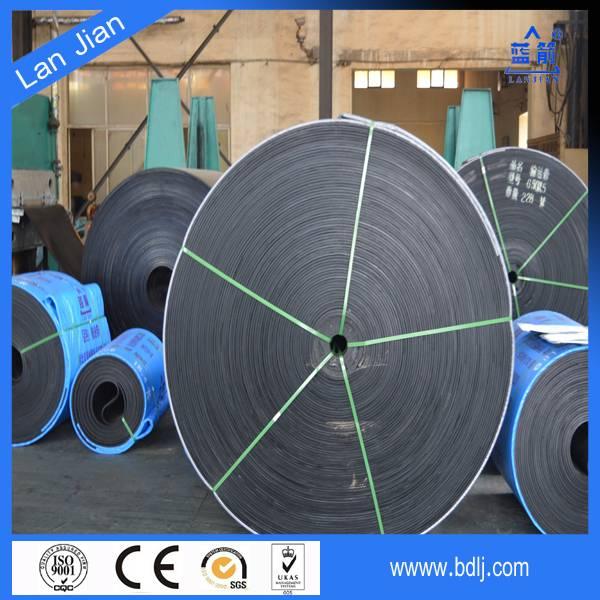 NN/EP/CC canvas industrial rubber conveyor belt/conveyor belting design for stone crusher
