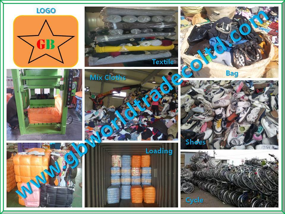 Used Stock Cloths Shoes